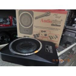 """Audiopipe - caja amplificada 8"""" slim 400w"""