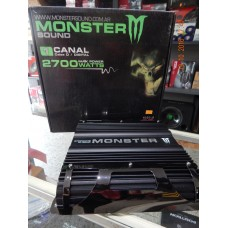 Amplificador Monster 2700w