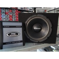 "Woofer 12"" STRONG + Potencia PYLE"